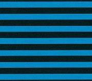 Pretty in Print - Candy Stripe - Atlantic