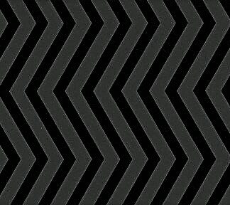 Pretty in Print - Chevron - Black