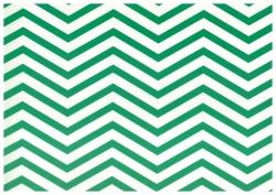 Pretty in Print - Chevron - Forest Green