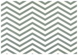 Pretty in Print - Chevron - Slate Grey