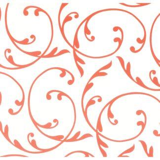 Pretty in Print - Fleur - Fire Engine Red