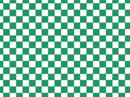 Pretty in Print - Checker - Forest Green
