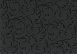 Pretty in Print - Little Fleur - Black