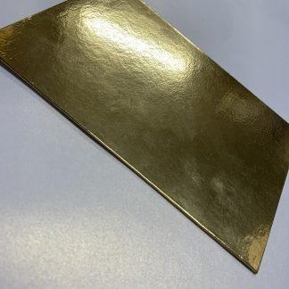 Mirror Gold Hard Cover Invitations